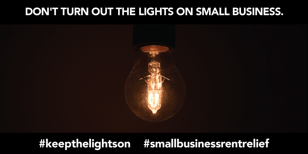 Don't Turn Out The Lights on Small Business