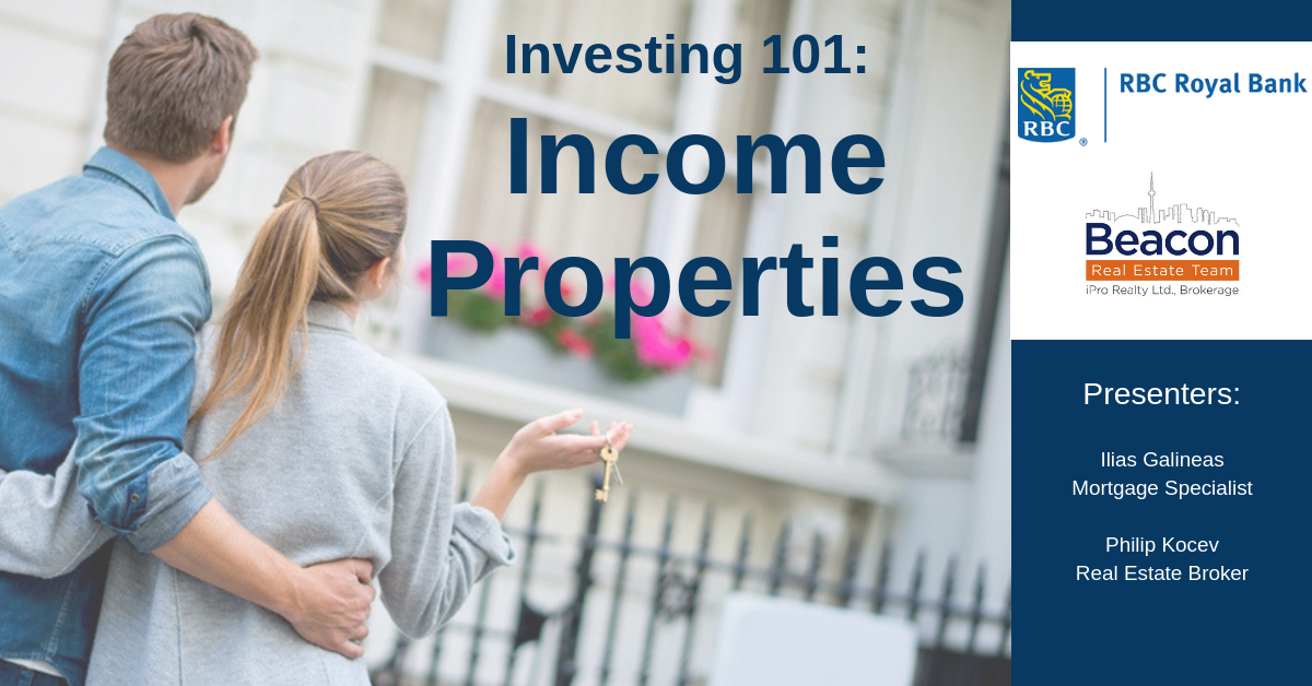 Information Session: Income Properties